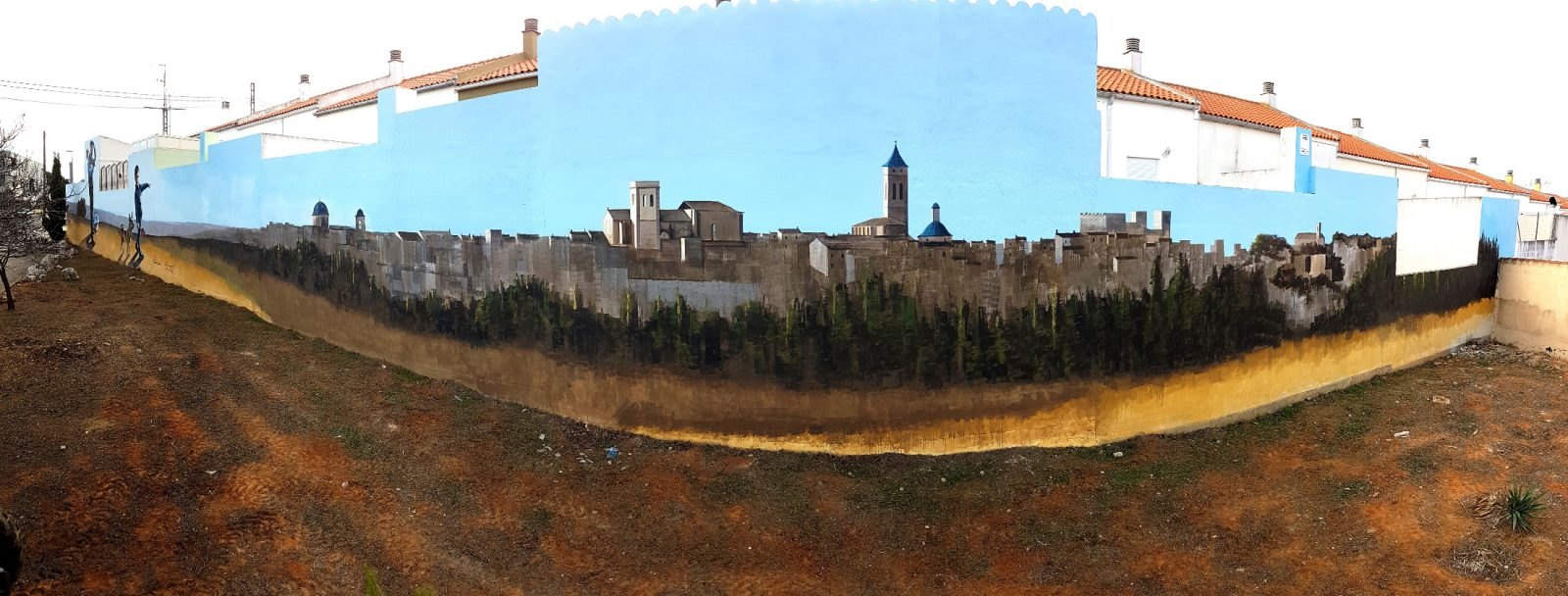 mural panoramica requena
